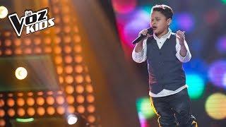 Carlos Andrés Vidal canta Desde Mi Inocencia - Audiciones a ciegas | La Voz Kids Colombia 2018