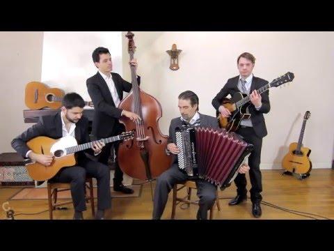 Medley - Quartet jazz manouche avec accordéon pour mariage et événements