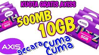 MAU! KUOTA GRATIS AXIS 10GB TANPA BAYAR