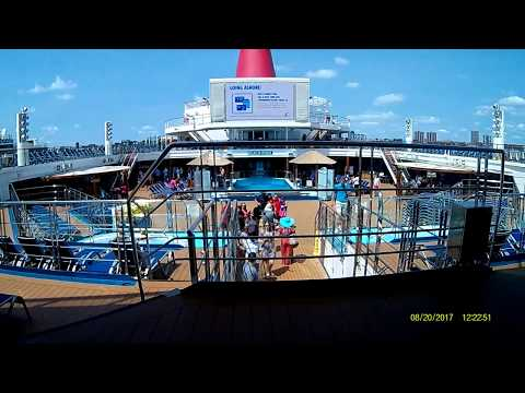 Carnival Sunshine New York, August 20, 2017