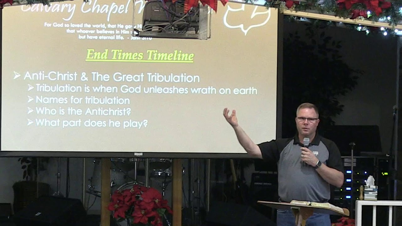 11 December 2019 I CCWO's Midweek Study Eschatology Pt 4 I Pastor Dan Jacobson