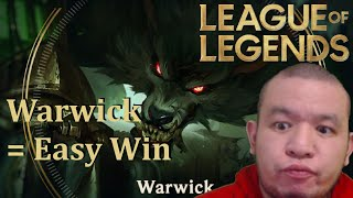 Warwick = Easy Win | Noob Diary: Warwick Gameplay #5 | League of Legends | No Commentary