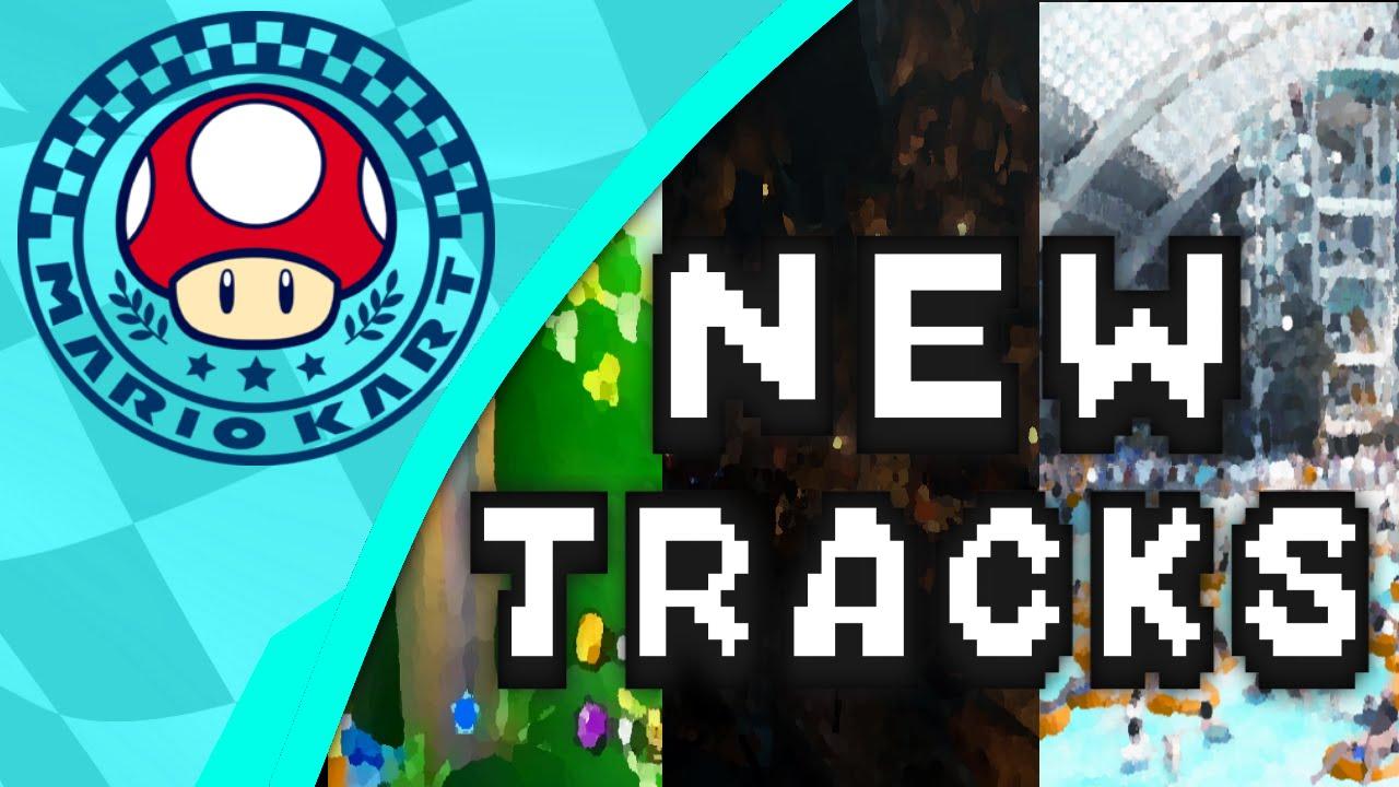 Mario Kart 9 Nitro Track Ideas Predictions Pt 1 Mushroom Cup
