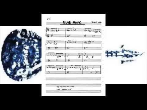 Blue Monk - Thelonius Monk - Lead Sheet Jazz 110 bpm Video 10