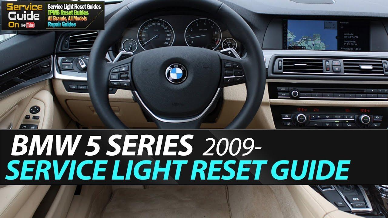 BMW 5 SERIES Service Light Reset (F10,F11)