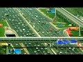 ( Dubai Sheikh Zayed Road ) Jebel Ali Industrial Area 1  to  Al Ghubaiba Bus Station journey HD