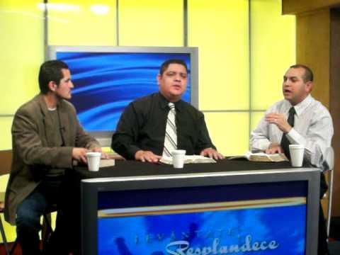 Ministrando en la Television en California!