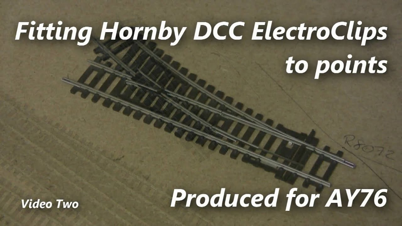 Dcc Series  Part 17   Converting Hornby Points To Dcc
