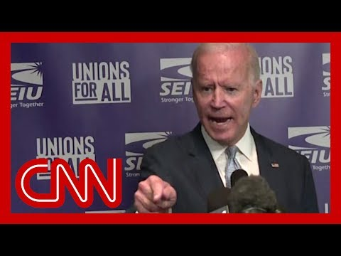 Joe Biden angrily fires back at Trump