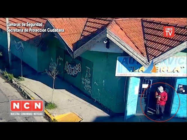 CINCO TV - San Fernando, detuvieron a cuatro personas por robar bebidas alcohólicas
