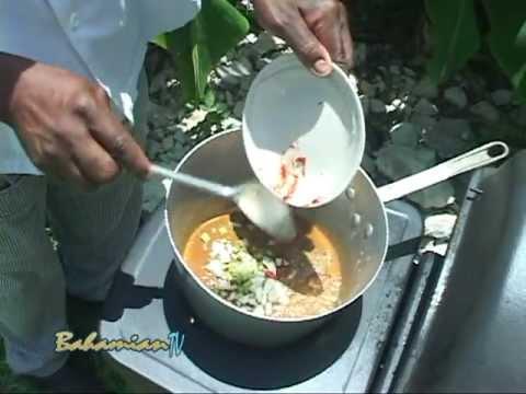 """BAHAMIAN STEW FISH""- By Chef Carl Swain"