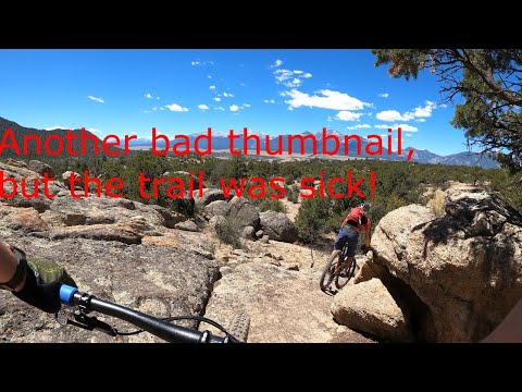 Riding the Midland trail system in Buena Vista\\SpudStarCycling