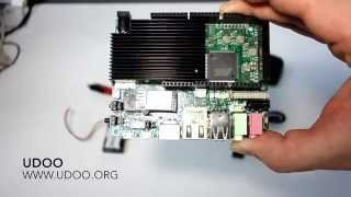 UDOO Freescale i.MX6 & ARM Cortex-M3 Ubuntu