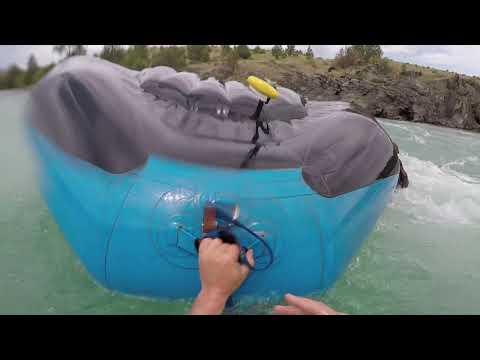 We Flipped The Raft!!