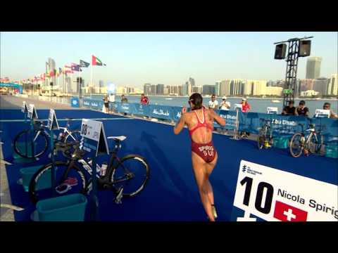 2016 Abu Dhabi World Triathlon - Elite Women's highlights