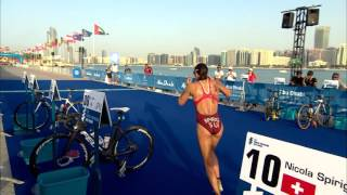 Video 2016 Abu Dhabi World Triathlon - Elite Women's highlights download MP3, 3GP, MP4, WEBM, AVI, FLV Juni 2018
