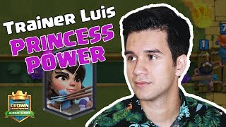 Clash Royale: How to Punish with Princess by Trainer Luis - [CCGS NA Fall Season W7]