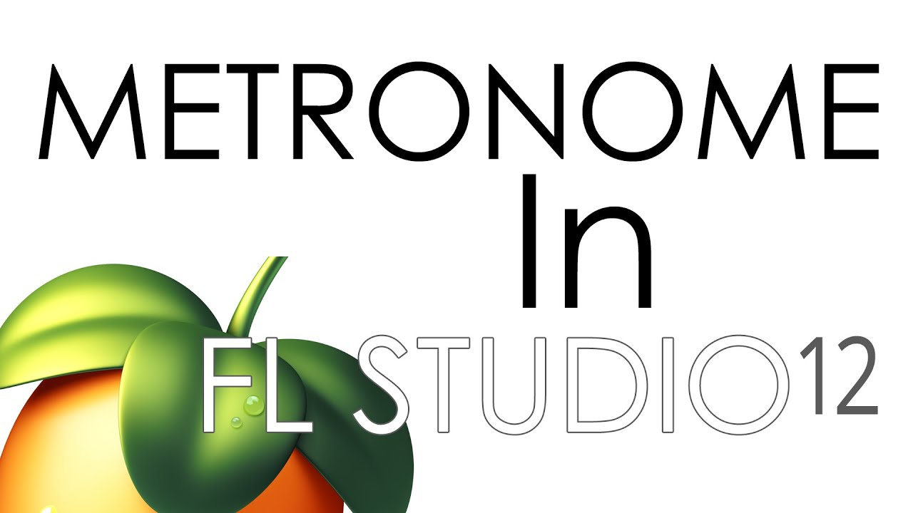 how to change fl studio metronome