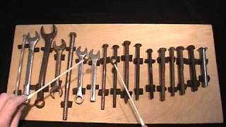 Beethoven's Ninth on a Toolbox