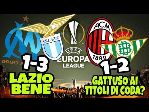 [EUROPA LEAGUE] Milan vs Betis 1-2 Olympique Marsiglia vs Lazio 1-3 BENE MA NON BENISSIMO