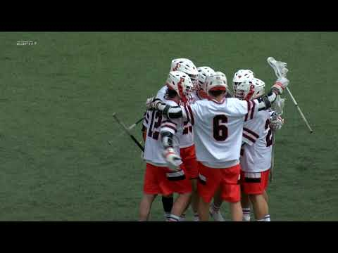 Highlights: Men's Lacrosse Vs. Brown - 3/30/19