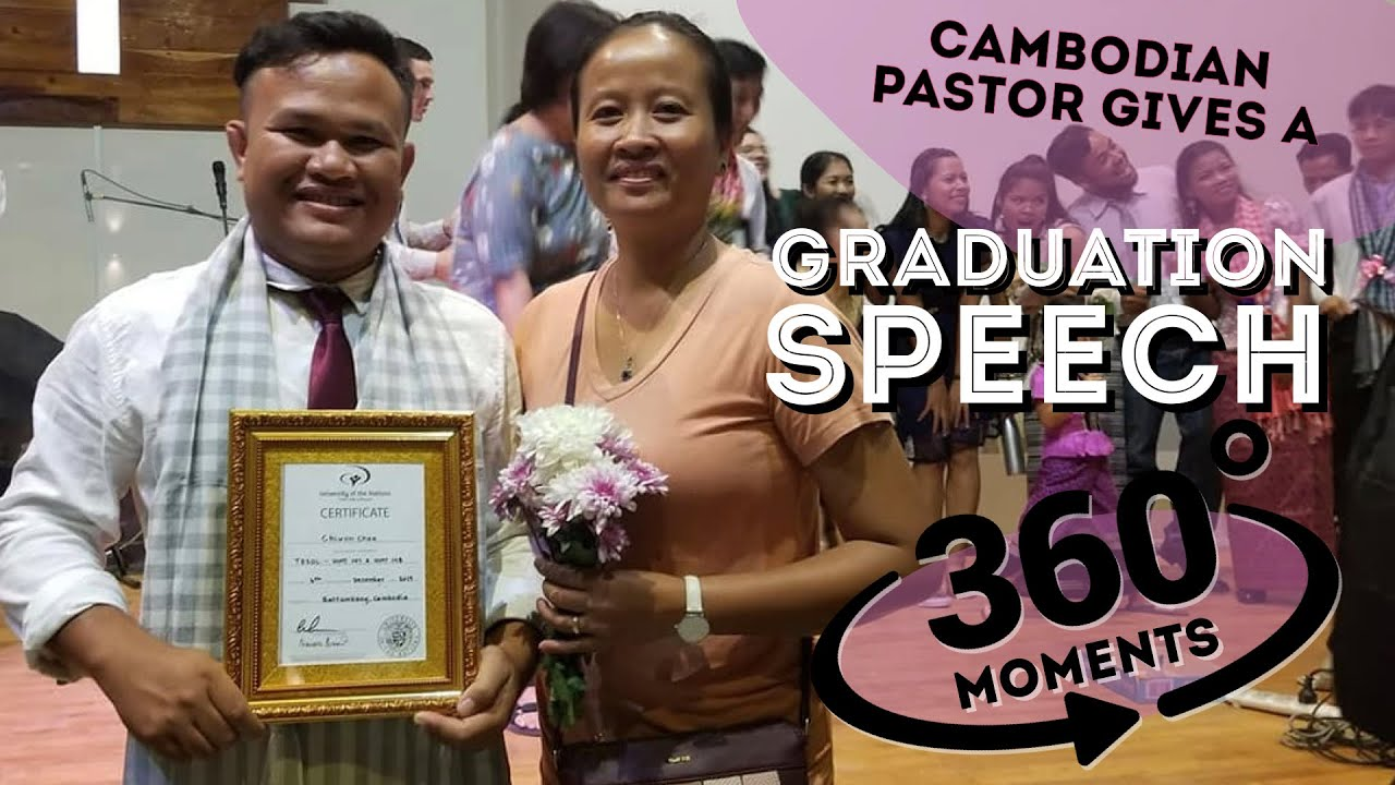 TESOL Graduation | 360° moments