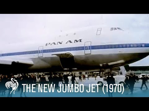 The New Jumbo Jet: Paving the Way of Future Air Travel (1970) | British Pathé