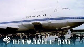 The New Jumbo Jet: Paving the Way of Future Air Travel (1970) | British Pathé