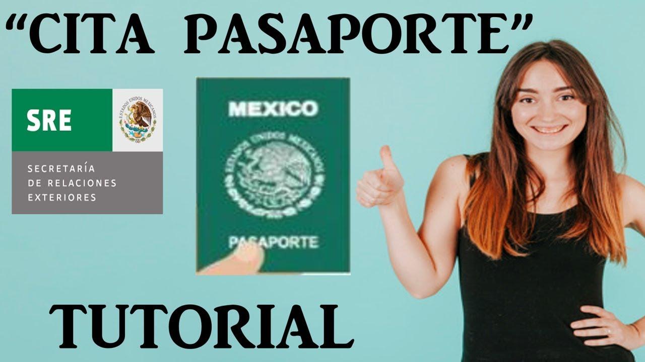 Cita Pasaporte Mexicano Por Internet 2019 Actualizado