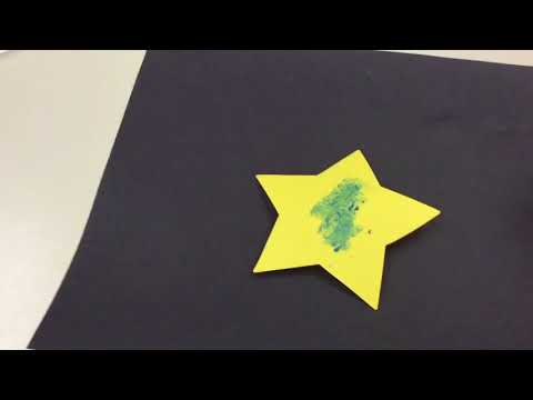 Early Childhood Star Art Project