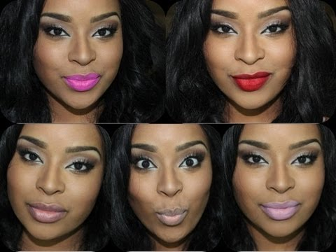 My MAC lipsticks with lip swatches - featuring Candy Yum Yum - YouTube