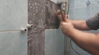 Замена водопроводных труб зашитых в стену быстро и не дорого(В этом видео вы можете увидеть, как поступить, если у вас из стены вдруг начала бежать вода. Имея начальные..., 2016-01-23T19:35:10.000Z)