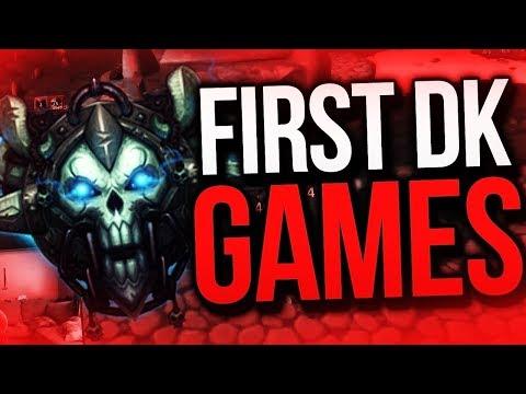 FIRST DK CDEW ARENA GAMES! Death Knight Legion 7.3 Arena Gameplay