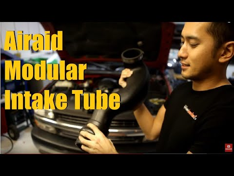Builds: Silverado Cold Air Intake Alternative (Airaid Modular Intake Tube Install) Part# 200-912