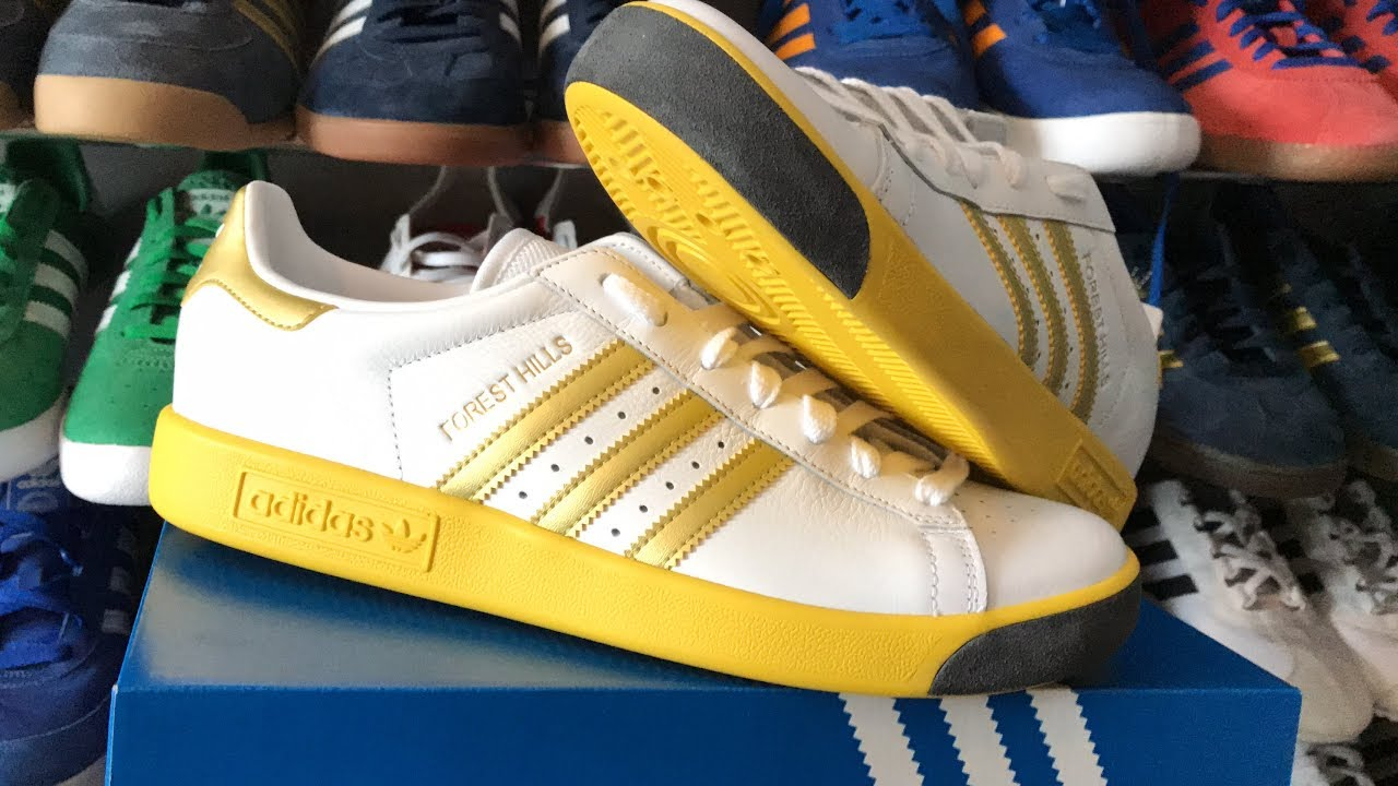 adidas forest hills unboxinn unboxinn unboxinn pied review youtube 32519c