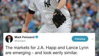 J.A. Happ reportedly signs with the Yankees and more rumors