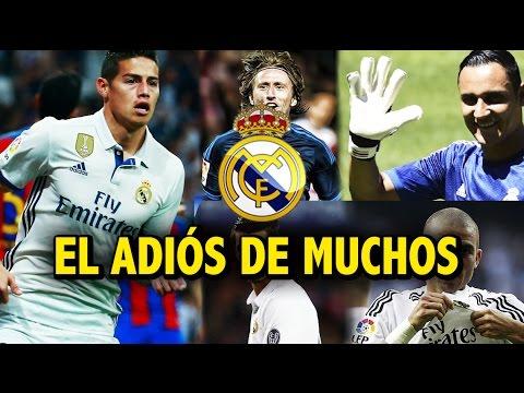Así fue el último gol de James en el Bernabéu | Los jugadores que le dicen adiós al Real Madrid