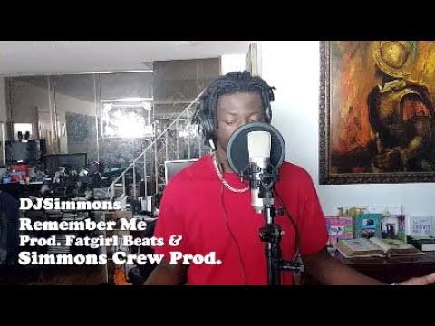 DJSimmons - Remember Me [ Prod. Fatgirl Beats & Simmons Crew Prod. ] #MurderThisBeatChallenge