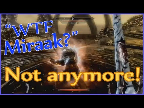 Skyrim - How to defeat Miraak even with Ethereal glitch
