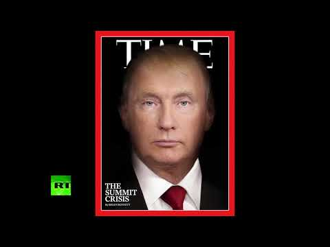 RT: Trutin? TIME magazine morphs leaders' faces into one