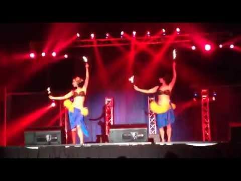 Fire Modern Tiki Show Asian Fair 2015 South Florida Fairgrounds