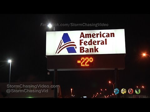 Extreme Cold Weather - Fargo, ND 12/27/2017