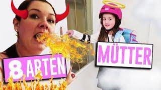 Ängstlichste Mama der Welt 😧  8 ARTEN VON MÜTTERN - Geschichten und Spielzeug