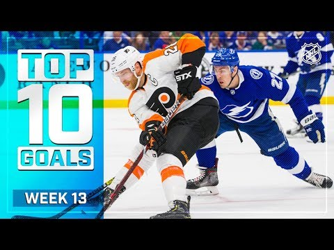 Top 10 Goals from Week 13