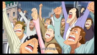 One Piece Episode  732 English Subbed Luffy's Comeback!!!
