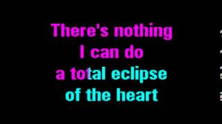 GLEE KARAOKE   TOTAL ECLIPSE OF THE HEART1]