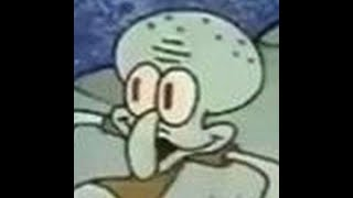 Freeze Frames Of Squidward But Its Playing Invader Zim: Enter The Florpus Credits Music