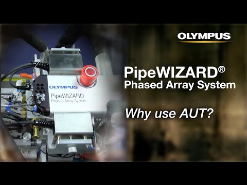 PipeWIZARD Phased Array System - Why use AUT?