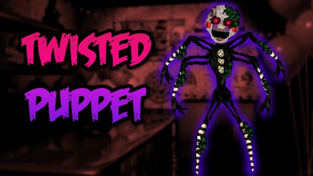 fnaf speed edit twisted puppet v2 l the twisted ones l