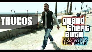 TODOS LOS TRUCOS DE GTA IV: THE BALLAD OF GAY TONY PC/XBOX/PLAYSTATION